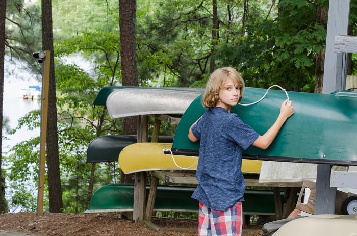 How Should Canoes Be Stored