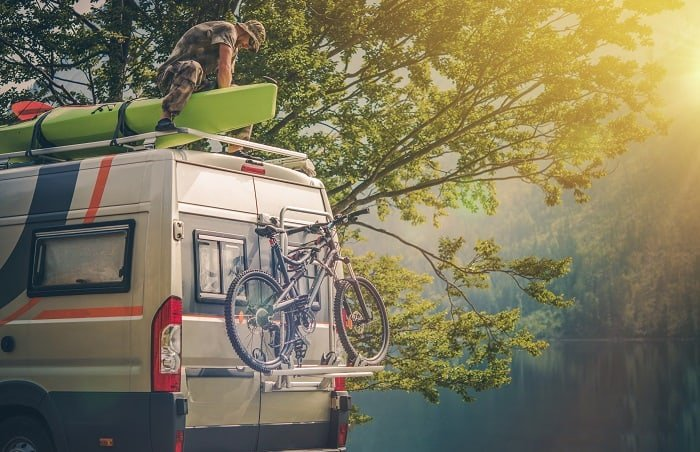 How To Carry Your Kayak On A Motorhome